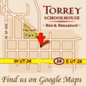 Google map of Torrey Schoolhouse